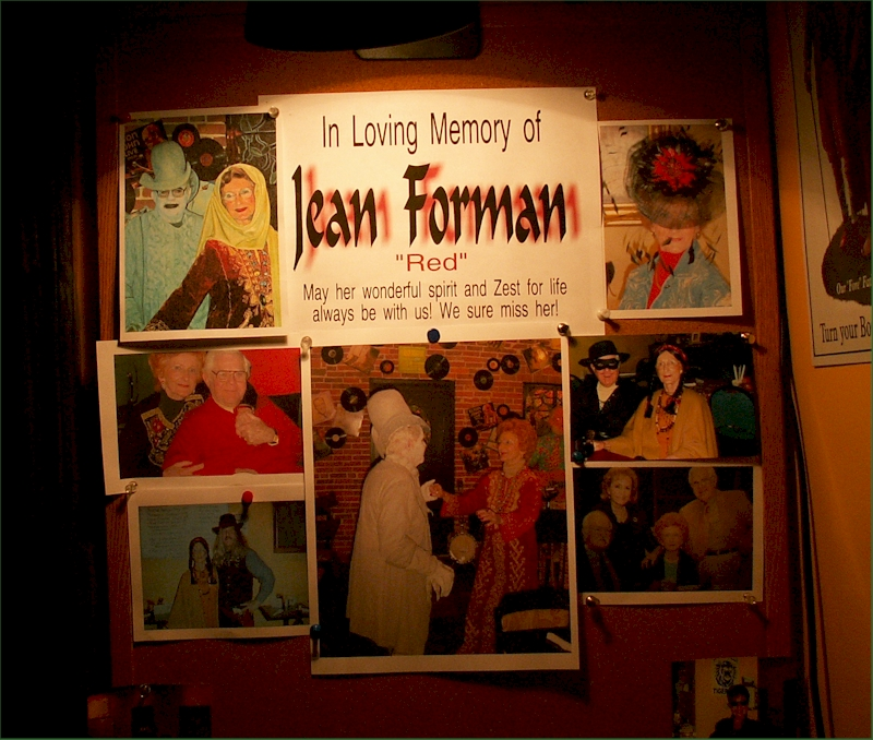 In Memory of Jean Forman