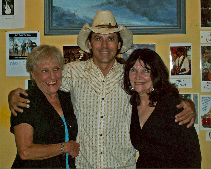 Austin Cunningham with Peggy & Merle