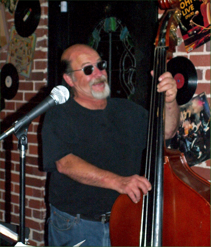 Garry on bass